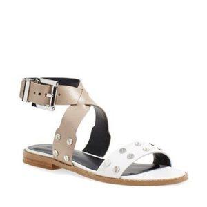 REBECCA MINKOFF | Stan Stud Ankle Strap Sandal AA